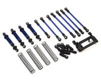 Traxxas TRX-4 Complete Long Arm Lift Kit Blue TRA8140X