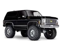 Traxxas TRX-4 1/10 Trail Crawler Truck w/'79 Chevrolet K5 Blazer Body (Black)
