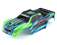 Traxxas Body Maxx Green Painted with Decal Sheet TRA8911G