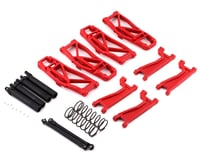 Traxxas Maxx Red WideMaxx Suspension Kit TRA8995R