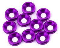 V-Force Designs 3mm Countersunk Washers (Purple) (10) (DragRace Concepts DRC1 Drag Pak)