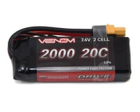 Venom DRIVE 20C 2S 2000mAh 7.4V LiPo Battery w/ UNI 2.0 Plug VNR15023