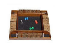 Wood Expressions 49-7410 4-player Shut-the-box