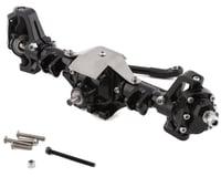 Xtra Speed SCX10 II Complete Aluminum Hi-Lift Front Portal Axle Set (Black)