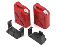 """Yeah Racing 1/10 Crawler Scale """"Jerry Can"""" Accessory Set (Fuel Cans) (Red)"""