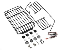Yeah Racing Metal Roll Cage w/Roof Rack & LED Light (2017 Wrangler CRC Body)