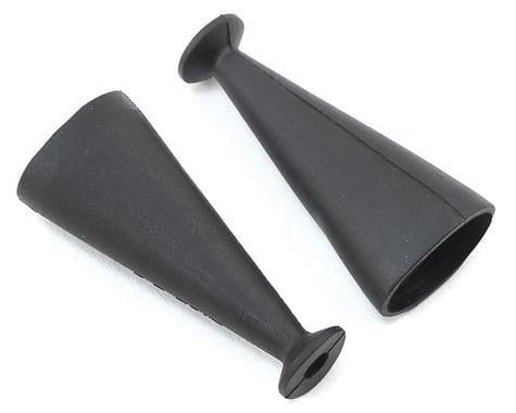 Arrma 40mm Rubber Shock Boots in Black for the Nero ARAAR330342