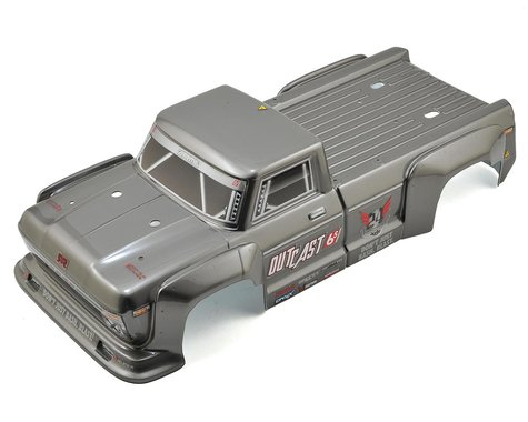 Arrma Outcast Body Silver ARAAR406097