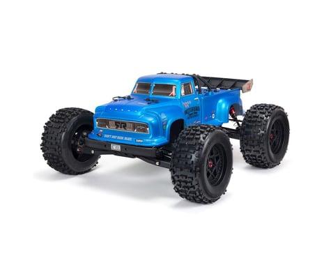 Arrma NOTORIOUS 6S V5 4WD 1/8  BLX Stunt Truck with Spektrum Firma RTR (Blue)