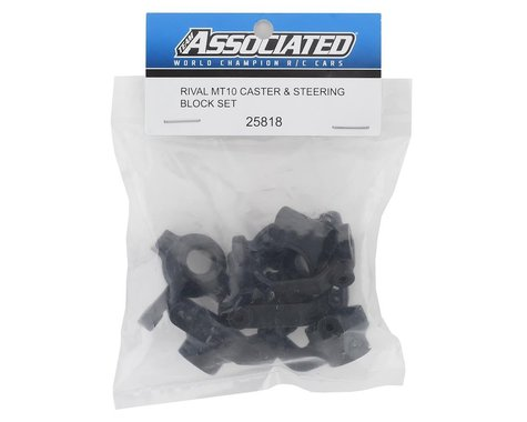 Associated Caster and Steering Block Set for Rival MT10 ASC25818