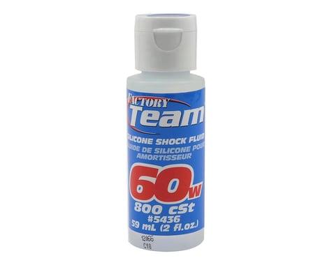 Associated 60Wt Silicone Shock Oil 2 Oz ASC5436
