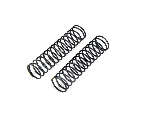 Axial Spring 13x62mm 2.5 lbs in Extra Firm Yellow (2) AXI233018