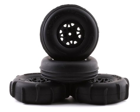 Axial ST28 Razor FR Paddle RR Tire Set for Yeti Jr AXI41000