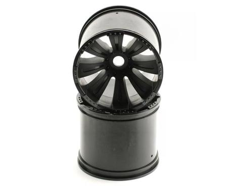 Axial 8 Spoke 40 Wheel Black (2) 17/14mm AXIAX8008