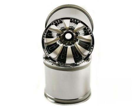 Axial 8 Spoke 40 Wheel Chrome (2) 17/14mm AXIAX8009