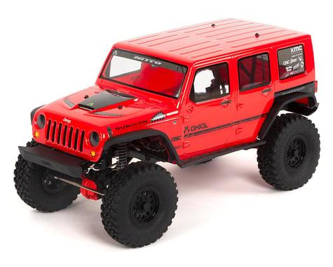 "Axial SCX10 II ""2017 Jeep Wrangler CRC Edition"" RTR 4WD Rock Crawler"