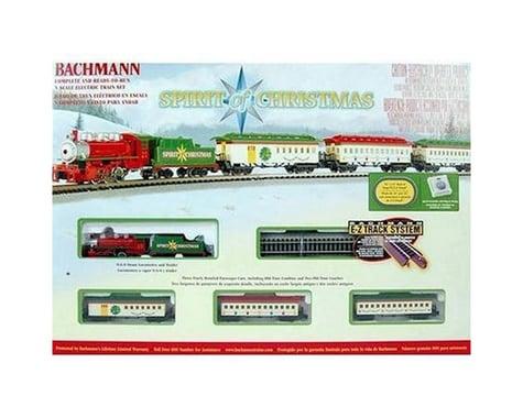 Bachmann Spirit Of Christmas Train Set N Scale BAC24017