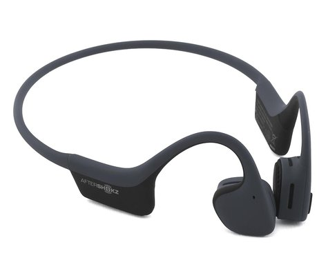 AfterShokz Air Wireless Bone Conduction Headphones (Slate Grey) (Standard)