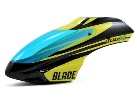 Blade Canopy Black Yellow 300 X BLH4542A