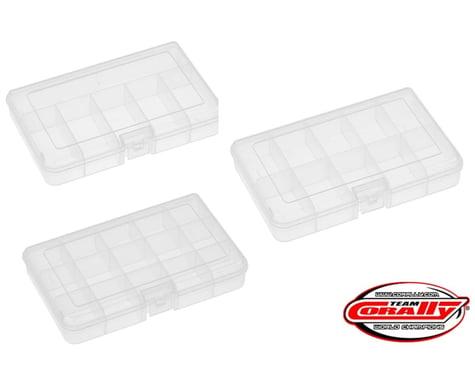 Corally Medium Parts Box Set (3) 165 x 112 x 31mm COR90259