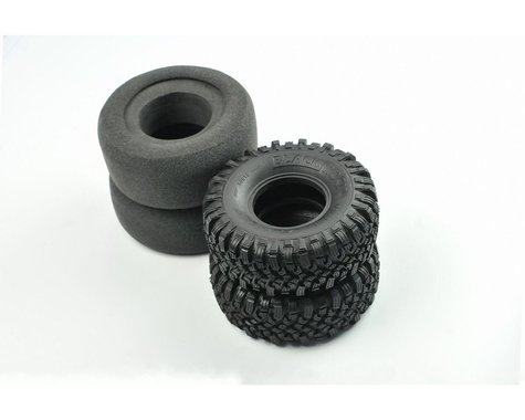 Cross RC Super Soft Blackrock Tires with 2-Stage Inserts CZR97400329