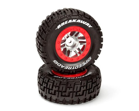 DuraTrax Slash SpeedTreads Breakaway SC Mounted Tires  DTXC2938