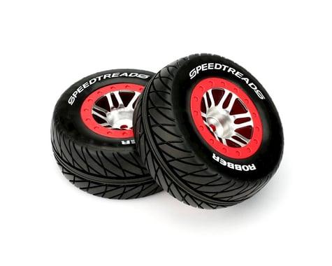 DuraTrax Slash Fr SpeedTreads Robber SC Mounted Tires DTXC2943