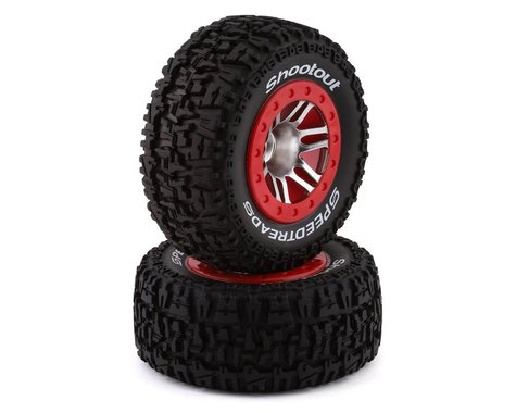 DuraTrax SpeedTreads Shootout SC Mounted Tires (2) DTXC2946