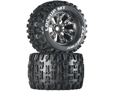 DuraTrax Lockup 3.8 Mounted MT Tires Chrome (2) DTXC3581