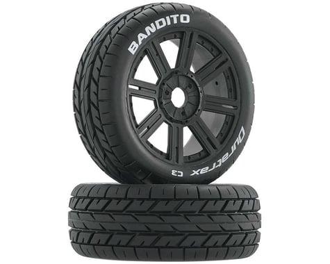 DuraTrax Bandito Buggy Tire C3 Mounted Spoke Black DTXC3656