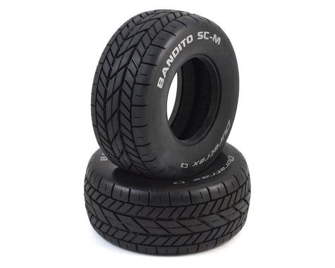 DuraTrax Bandito SC-M Oval Tire C3 (2) DTXC3801