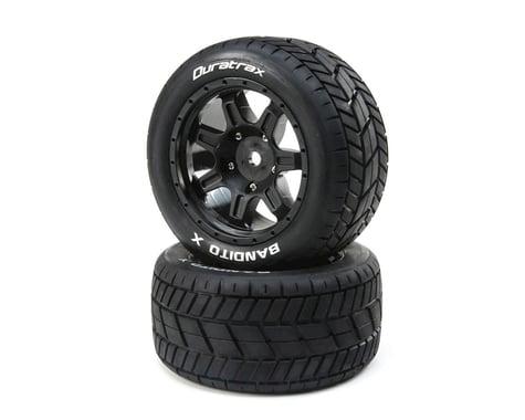 DuraTrax Bandito X Tires Mounted Black 24mm DTXC5500