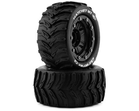"DuraTrax Hatchet MT Belt 2.8"" Mounted .5 Offset 17mm Black Front/Rear Tires (2) DTXC5606"