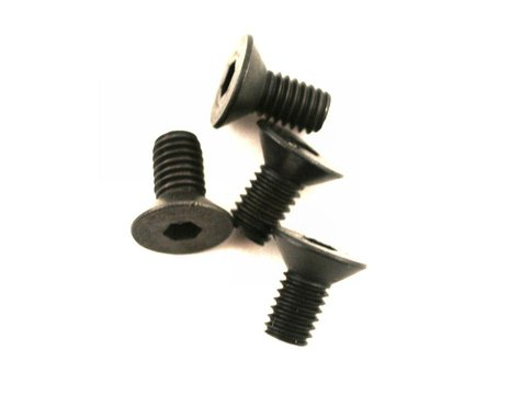 Dubro Flat Head Socket Screw 3.0mmx6 (4) DUB2285