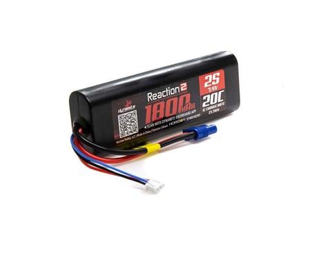 Dynamite Reaction 2 7.4V 1800mAh 2S 20C LiPo Hardcase EC3 Battery DYNB1822H3