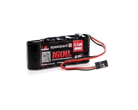 Dynamite Flat Receiver Pack Speedpack2 6V 1600mAh 5C NiMH Battery DYNB2452