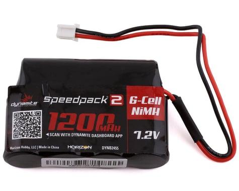 Dynamite MINI-S Speedpack2 7.2V 1200mAh 6C NiMH Battery DYNB2455