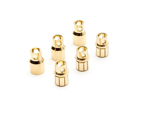 Dynamite Gold Bullet Connector Set, 8.0mm (3) DYNC0093