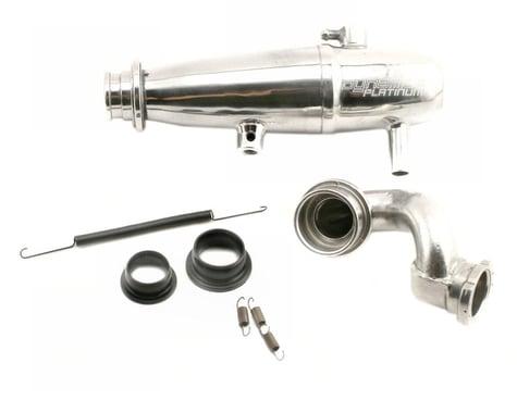 Dynamite 1/10 Power In-line Exhaust System Polished Revo DYNP5015