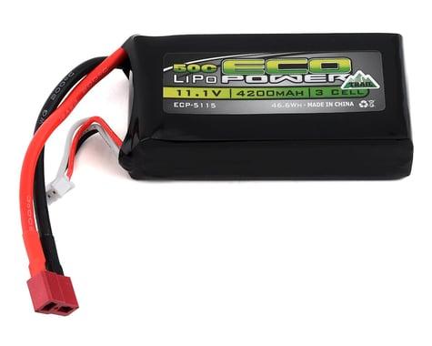 "EcoPower ""Trail"" 3S Shorty 50C LiPo Battery (11.1V/4200mAh)"