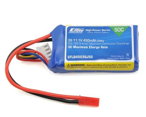 E-Flite LiPo Battery 11.1V 450mAh 3S 50C 18AWG JST EFLB4503SJ50