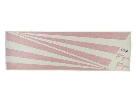"""Flite Test 26"""" Decal Star-Bursts (Red)"""