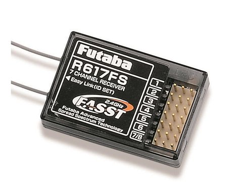 Futaba R617FS 2.4GHz FASST Rx 7Ch FUT01102191-3