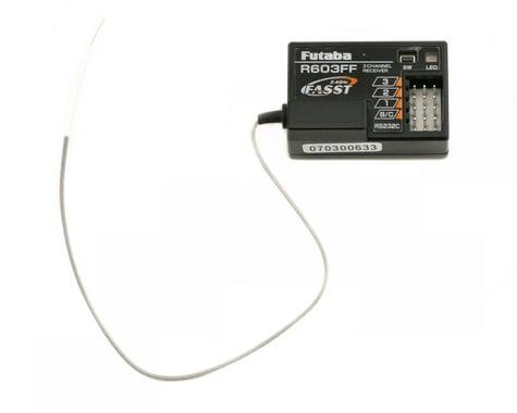 Futaba R603FF 2.4GHz FASST 3Ch Rx 3PM 3PK 4PK FUT01102234-1