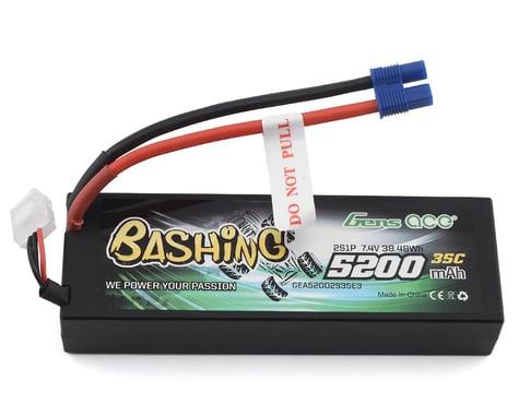 Gens Ace Bashing Series 5200mAh 7.4V 2S1P 35C car Lipo Battery Pack Hardcase 24# with EC3 Plug GA-B-35C-5200-2S1P-HardCase-24-EC3