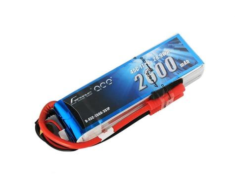 Gens Ace Gens ace 2600mAh 4S 14.8V 45C Lipo Battery Pack with Deans Plug GA-B-45C-2600-4S1P-Deans