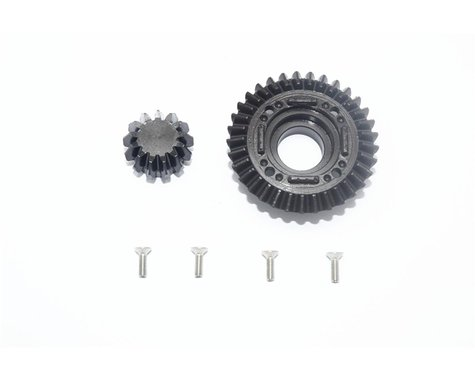GPM Racing Traxxas Harden Steel #45 Rear Differential Ring Gear/Pinion Gear
