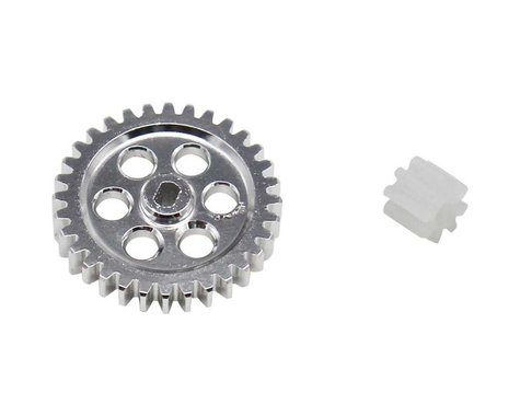 Hot Racing 0.5M Spur Gear Conversion for Axial SCX24 HRASXTF328M05