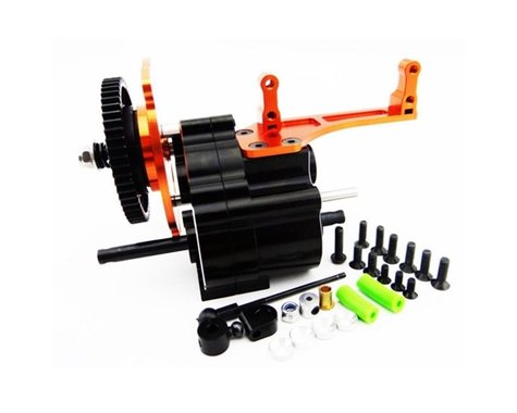 Hot Racing 2-Speed Gear Box with Long Shaft Output HRAWRA38TP03