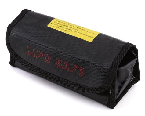 Integy LiPo Guard Case for Charging and Storing - Black INTC24575BLK